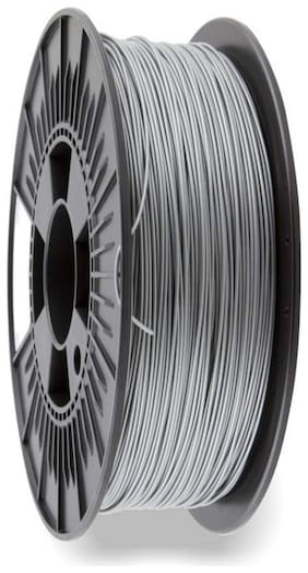 3idea Technology Silver PLA Filament | 1.75mm Diameter | 330 Mtr Length | 1kg Spool |Printing Material for 3D Printer & 3D Pen