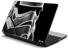 3point0 Black star wars laptop skin (Multi Color)