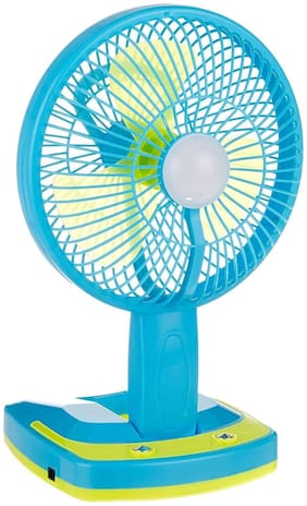 5590 jy super Powerful Folding Rechargeable Table Fan with 21SMD LED Lights,