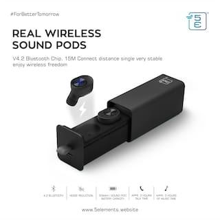 5E GW10 Mono bluetooth headset Bluetooth Headsets ( Black )