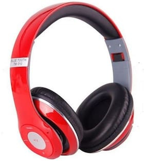 5PLUS 5PHP4 On-Ear Bluetooth Headset ( Red )