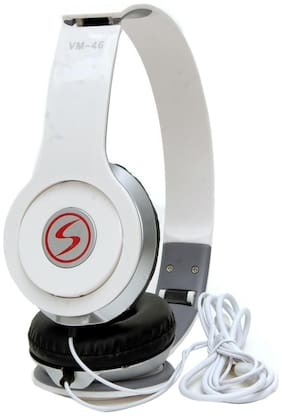 5PLUS Wired Headphones With Stereo Sound Compatible With Laptop & Mobile 5P28