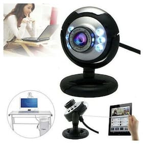 6 LED USB Night Vision Webcam Web Cam Camera With MIC for Computer PC Laptop