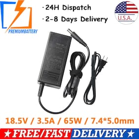 65W AC Adapter Charger for HP Pavilion G4 G5 G6 G7 Laptop Power Supply US