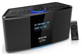 Acoosta Portable Bluetooth Speaker ( Black )