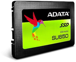 "ADATA SU650 960GB 3D-NAND 2.5"" SATA III High Speed Read up to 520MB/s Internal Solid State Drive (ASU650SS-960GT-C)"