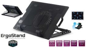 Tech Gear 1 Fan Laptop Cooling Pad ( Upto 17 Inch)