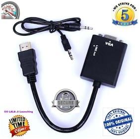 ADNet hdmitovga HDMI to VGA Converter (Black)