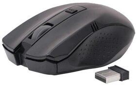 Adnet Premium Design Black Wireless Optical Mouse