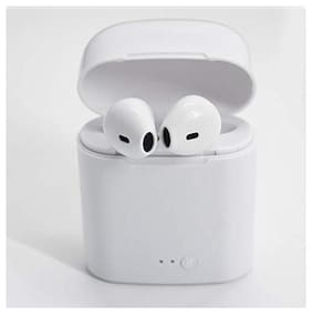 Adora I7s TWS Bluetooth In-Ear Bluetooth Headset ( White )