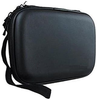 AfroDive HDD Cover Black 6.35 cm (2.5 inch) Hard Disk Case for External Hard Disk Cover pouch Water Proof,Shock Proof (For Seagate,Toshiba,WD,Sony,Transcend ,dell)