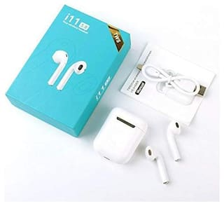 AFRODIVE i11s tws wireless earbuds headphone with mic In-Ear Bluetooth Headset ( White )