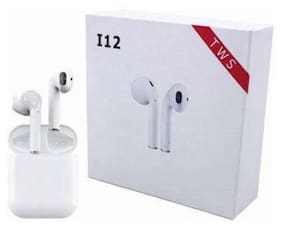 AFRODIVE i12 In-Ear Bluetooth Headset ( White )