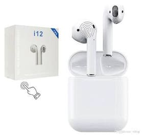 AFRODIVE i12 tws In-Ear Bluetooth Headset ( White )