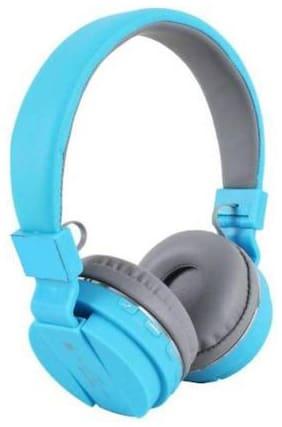 AFRODIVE sh 12 blue Over-Ear Bluetooth Headset ( Blue )
