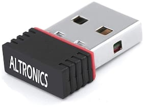 Altronics 950 N Mini USB Adapter Wi Fi Dongle LAN Connector Network Card 600 mbps Wi Fi Adapter
