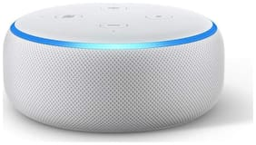 Amazon ECHO DOT (3RD GEN) Wired & Bluetooth Smart Speaker ( White )