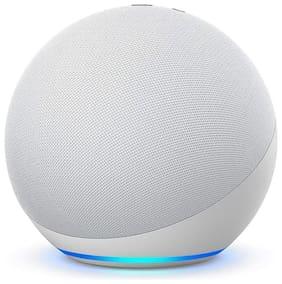 Amazon ECHO 4TH GEN Wired Portable Speaker ( White )