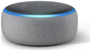 Amazon ECHO DOT (3RD GEN) Bluetooth Portable Speaker ( Grey )