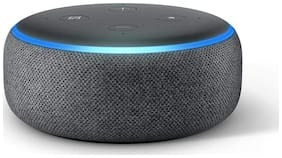 Amazon ECHO DOT (3RD GEN) Wired & Bluetooth Smart speaker ( Black )