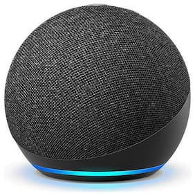 Amazon ALL-NEW ECHO DOT (4TH GEN) Wired Smart Speaker ( Black )