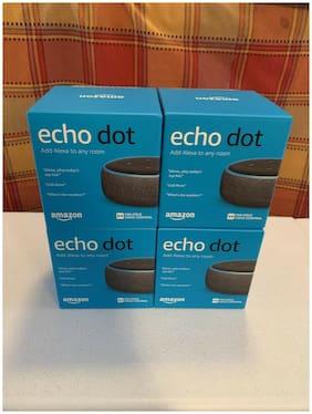 Amazon Echo Dot 3rd Gen Charcoal Smart Speaker w/ Alexa *Brand New*