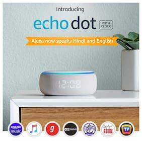 Amazon ECHO DOT (3RD GEN) Portable Bluetooth Speaker ( White )