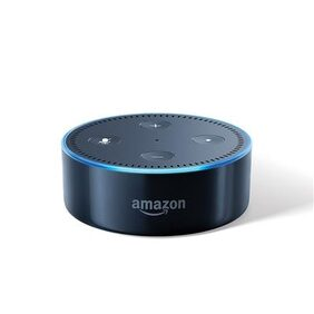 Amazon Echo Dot Black - Voice control your music, Get news, weather & more
