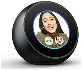 Amazon ECHO SPOT Portable Bluetooth Speaker ( Black )