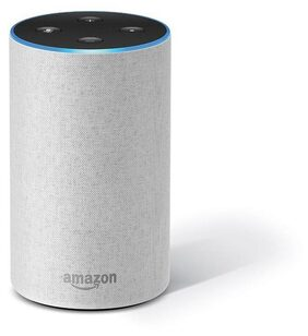 Amazon Echo White - Voice control your music, Get news, weather & more, Powered by Dolby