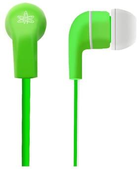 Amkette Trubeats Atom X10 Wired In-The-Ear Earphone (Gree)