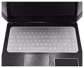 """amtfox  Laptop Keyboard Protector Covers Skin Silicone Guard for 13""""-14""""-inch Laptop"""