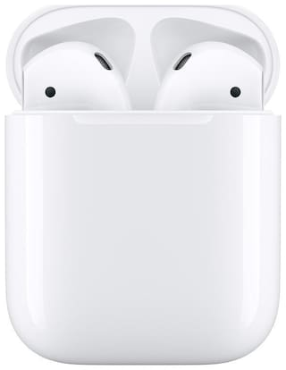Apple AIRPODS 2 WITH CHARGING CASE In-ear Bluetooth Headsets ( White