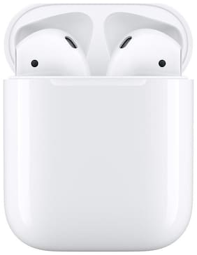 Apple Airpods 2 with Charging Case In-Ear Bluetooth Headset ( White )