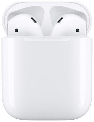 Apple Airpods True Wireless Bluetooth Headset ( White )