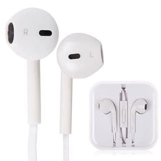 4dc958417 Buy Apple Earphones for all ipod and Iphone with Mic Online at Low ...