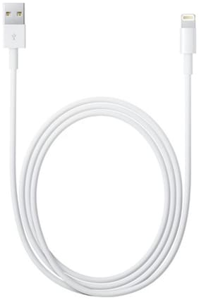Apple MD819ZM/A Data Cable For iPhones White)