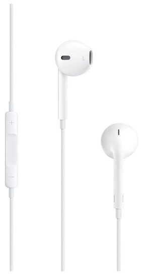 Apple MNHF2ZM/A Wired In Ear EarPods with 3.5mm Headphone (White)