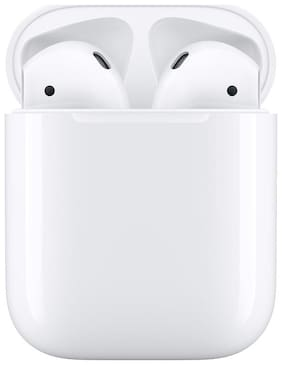 Apple Airpods True Wireless Bluetooth Headset ( White )