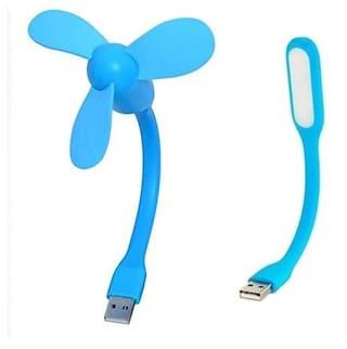ARHUB Mini Portable & Flexible USB Fan , USB Light