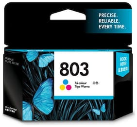 AS CARTRIDGE 803 1850 Pages Ink Cartridge (Tricolor)