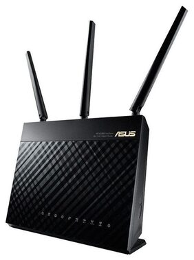 Asus AC1900 RT AC68U Dual-Band Wireless Gigabit Router (Black)