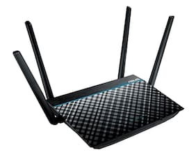 ASUS Dual-Band 2x2 AC1300 Super-Fast Wifi 4-port Gigabit Router with MU-MIMO an