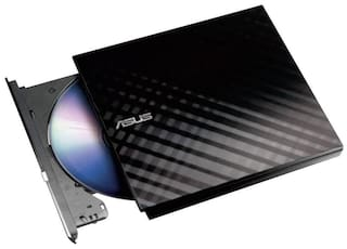 Asus Slim Dvd Writer Mac And Windows 8 Compatible (Black)