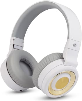 AT&T PBH20-WHT Over-ear Bluetooth Headsets ( White )