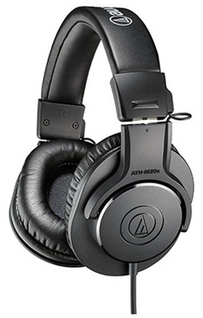 Audio-Technica ATH-M20x Wired Over Ear Headphone (Black)