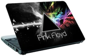 Aurra Pink Floyd Laptop Skin For 15.6 Inches (Multi Color)