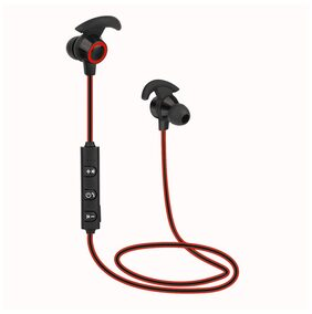 Ax 02 Bluetooth Sports Earphone with Mic (Red)