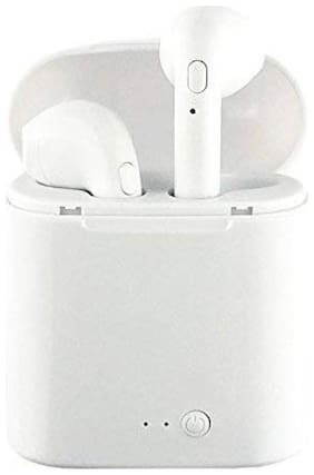 Battlestar In-Ear Bluetooth For All Smartphones (White)