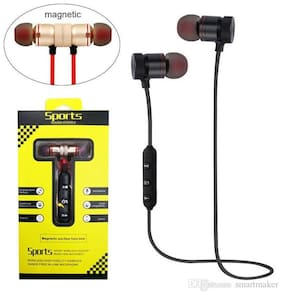 Battlestar SPORT MAGNET In-ear Bluetooth Headsets ( Black )
